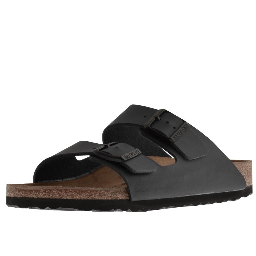 54a68c38a21f Birkenstock Arizona Sandals Black in Black for Men - Save 36% - Lyst