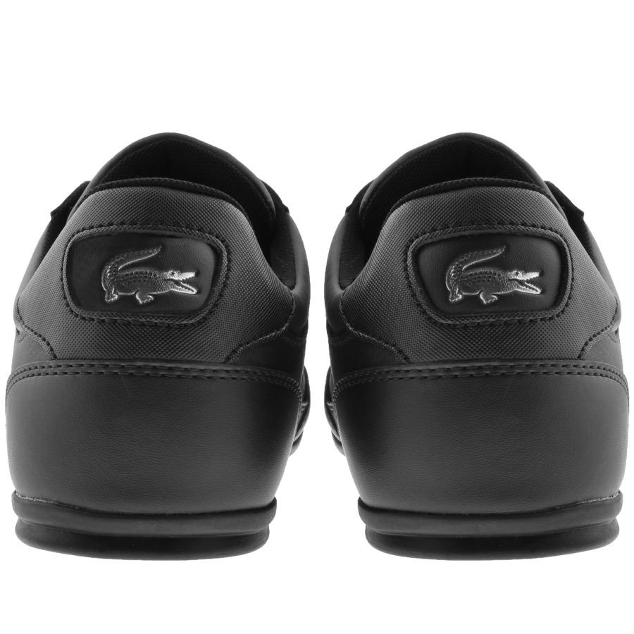 f48e9a87d Lyst - Lacoste Chaymon Trainers Black in Black for Men