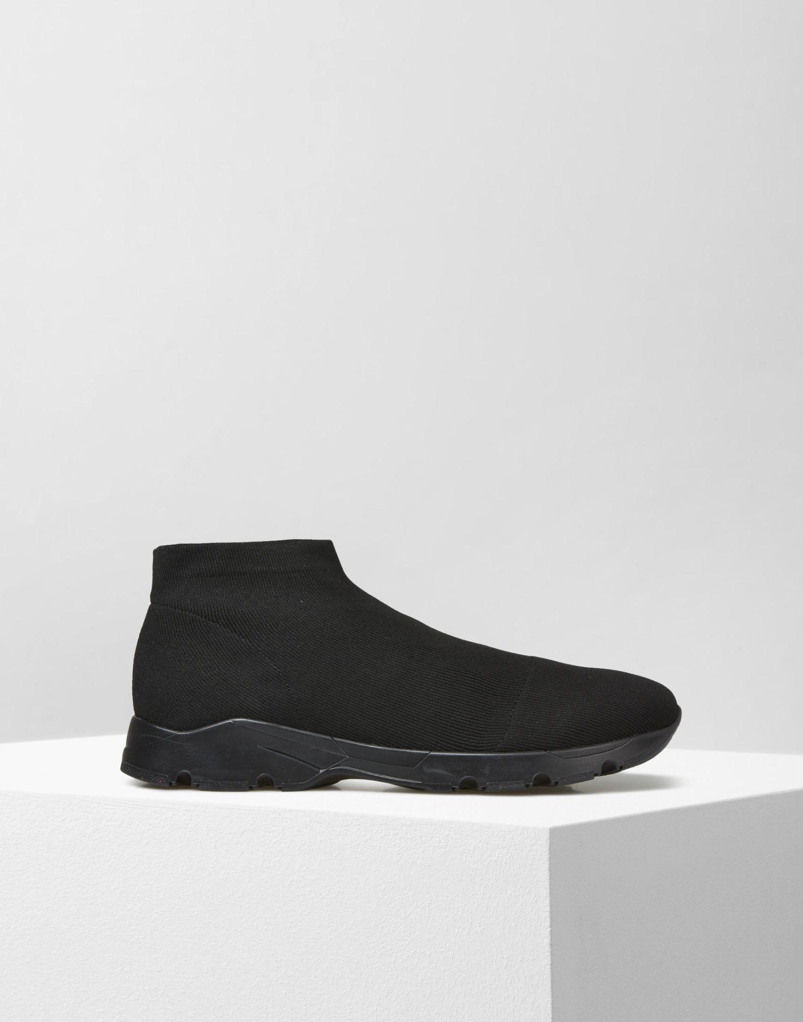 Lyst mm6 by maison martin margiela knit sneakers in black for Mm6 maison martin margiela