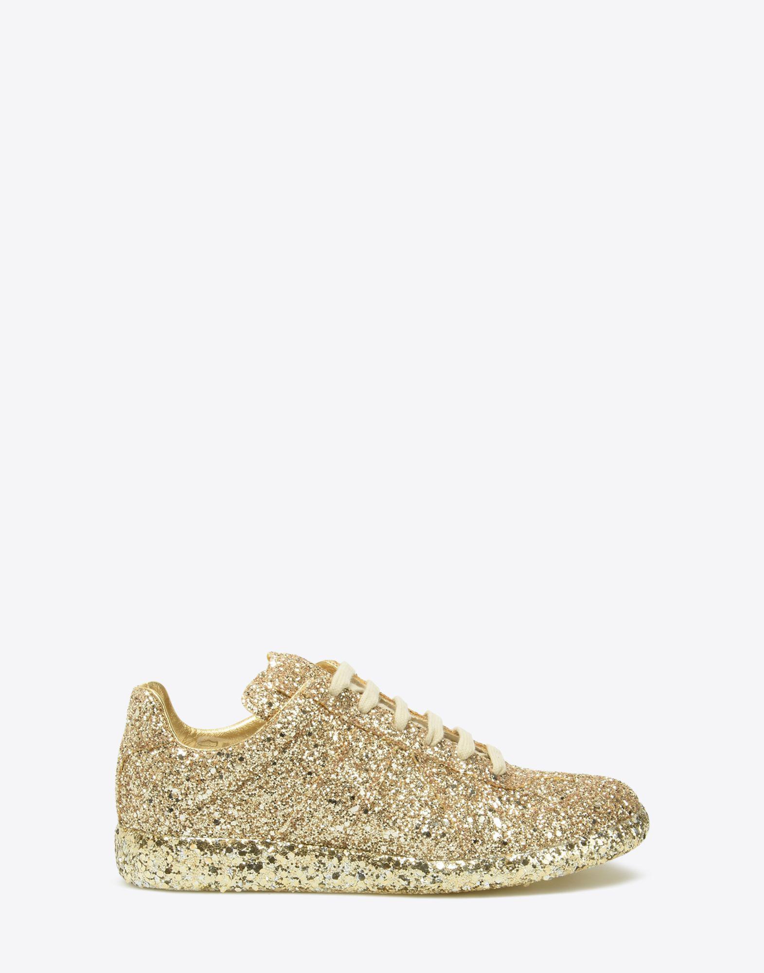 Replica glitter sneakers - Metallic Maison Martin Margiela 5HGjK