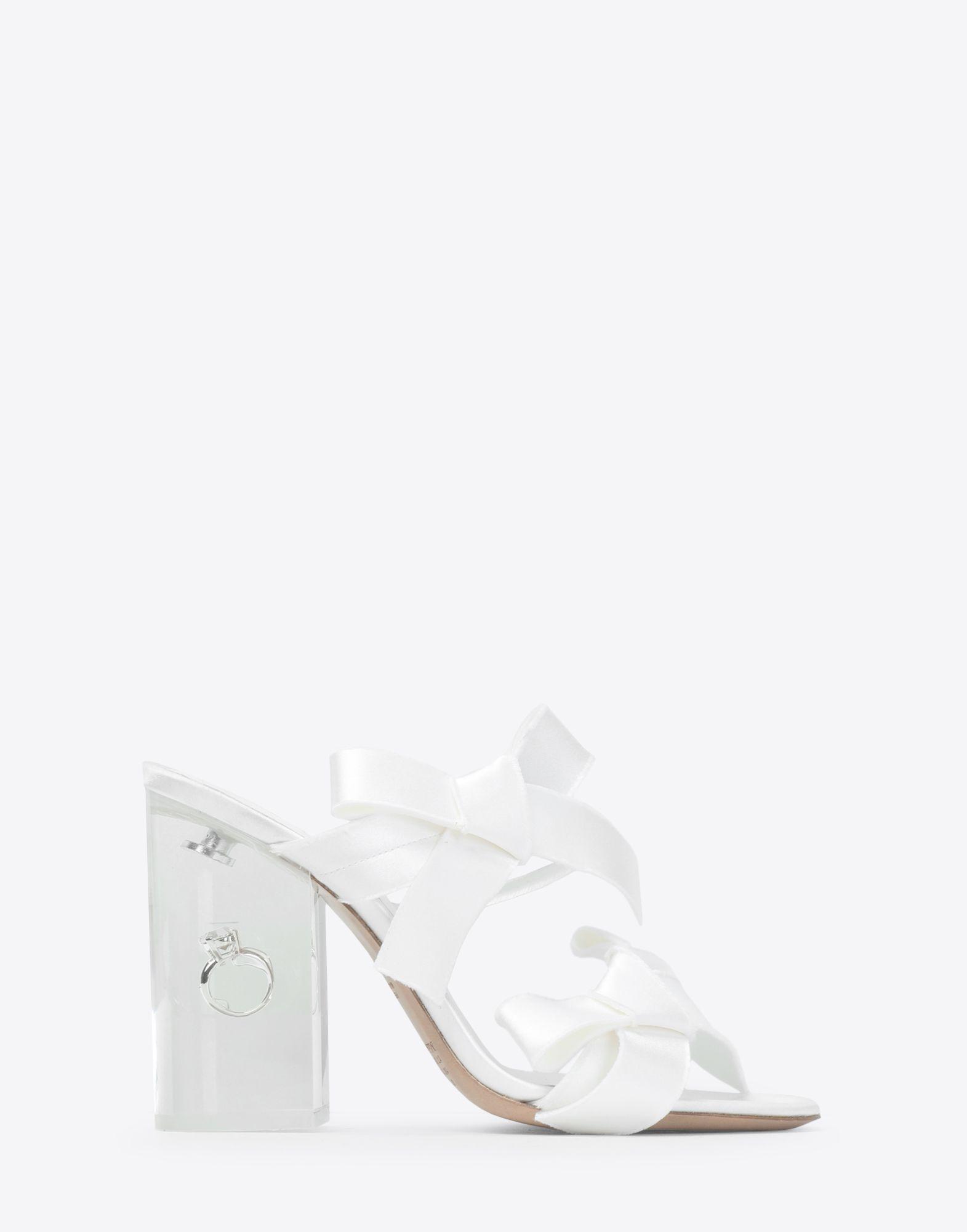 22fad54b4c3e5 Lyst - Maison Margiela Marry Me Heels in White