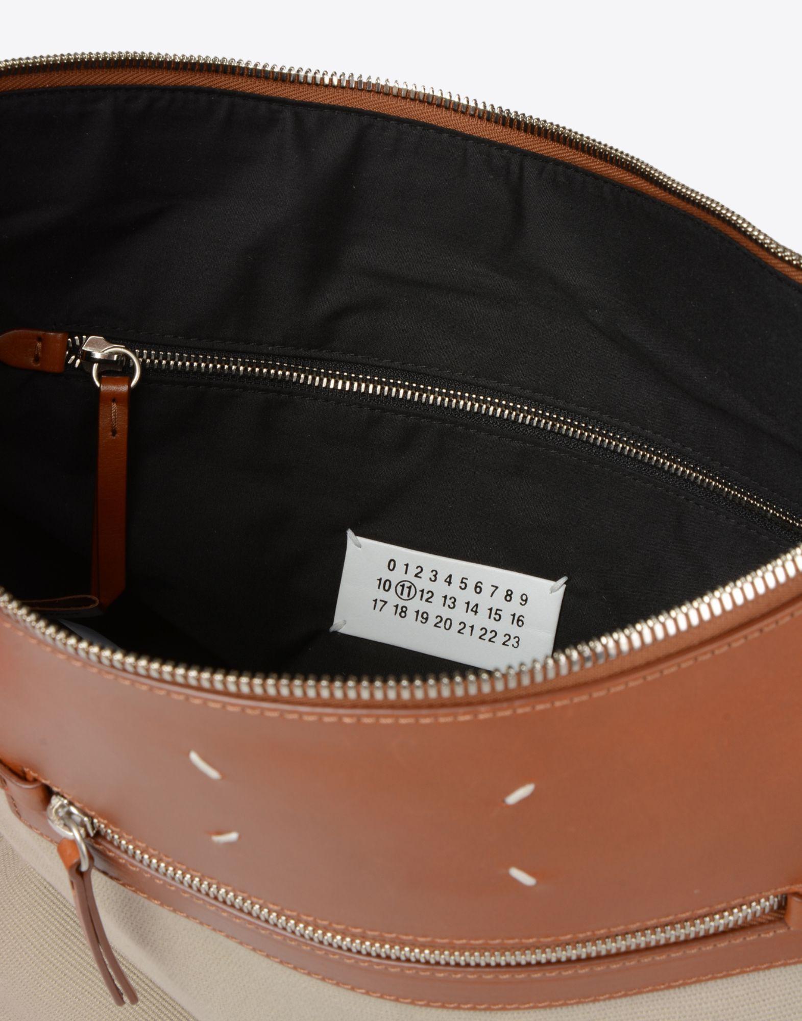 Maison Margiela Canvas Cotton Shopping Bag in Beige (Natural) for Men