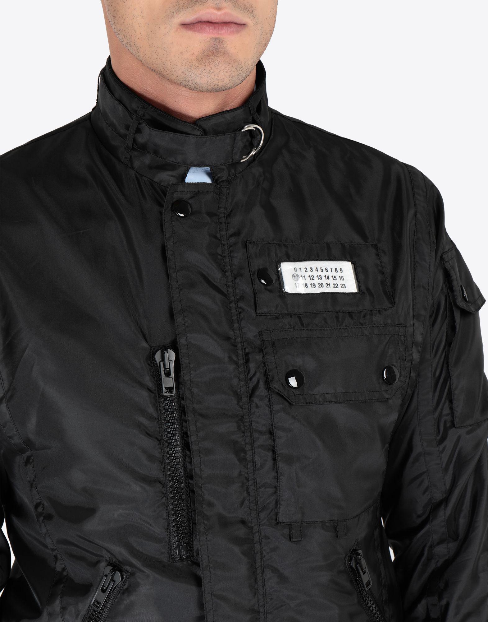 222250f5ff Lyst - Maison Margiela Nylon Sports Jacket in Black for Men