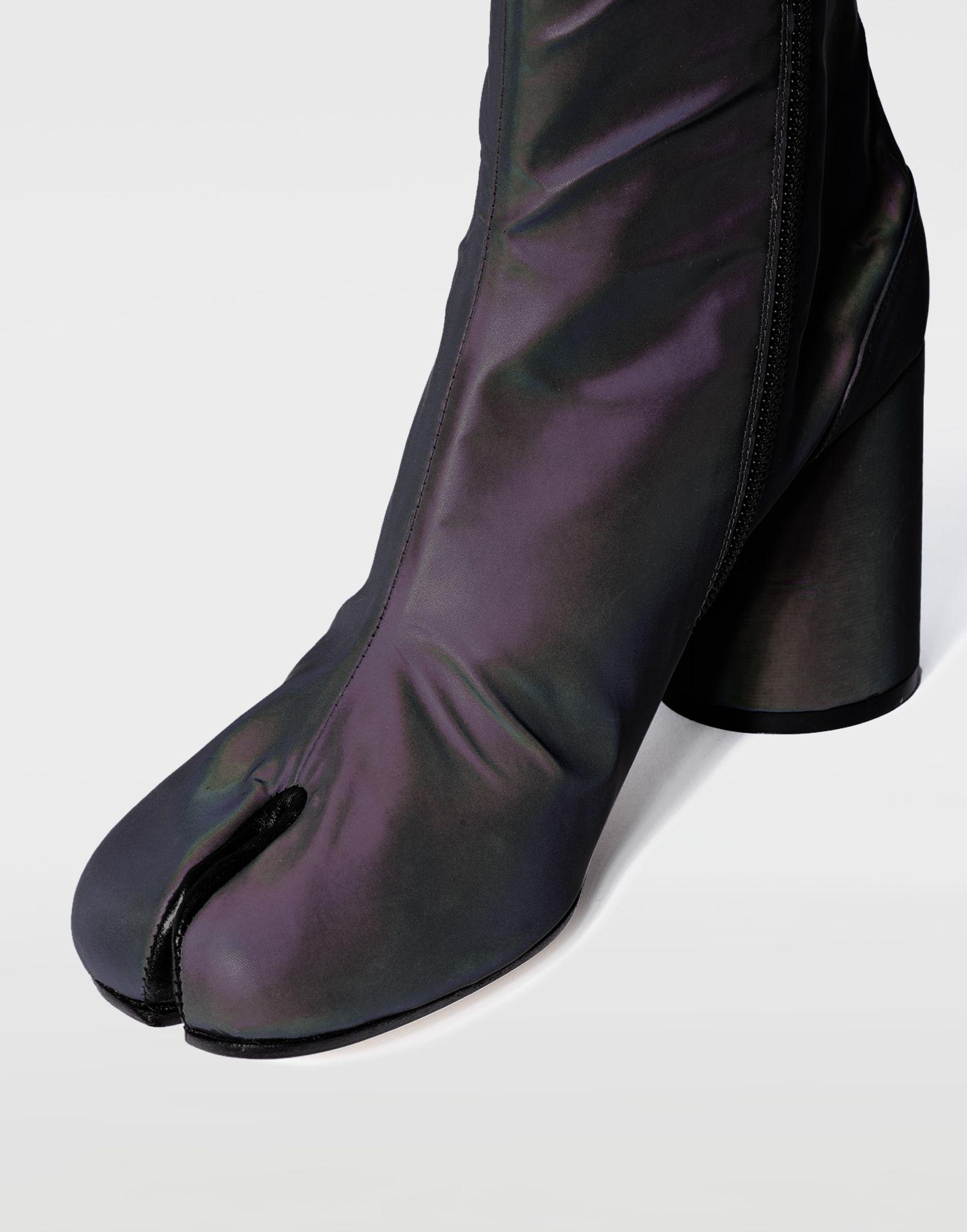81ba8df52dd Maison Margiela Gray Reflective Tabi Boots