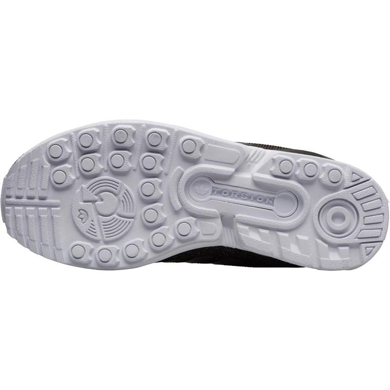 promo code 59214 1844c adidas Originals Zx Flux Trainers Utility Grey utility Black silver ...