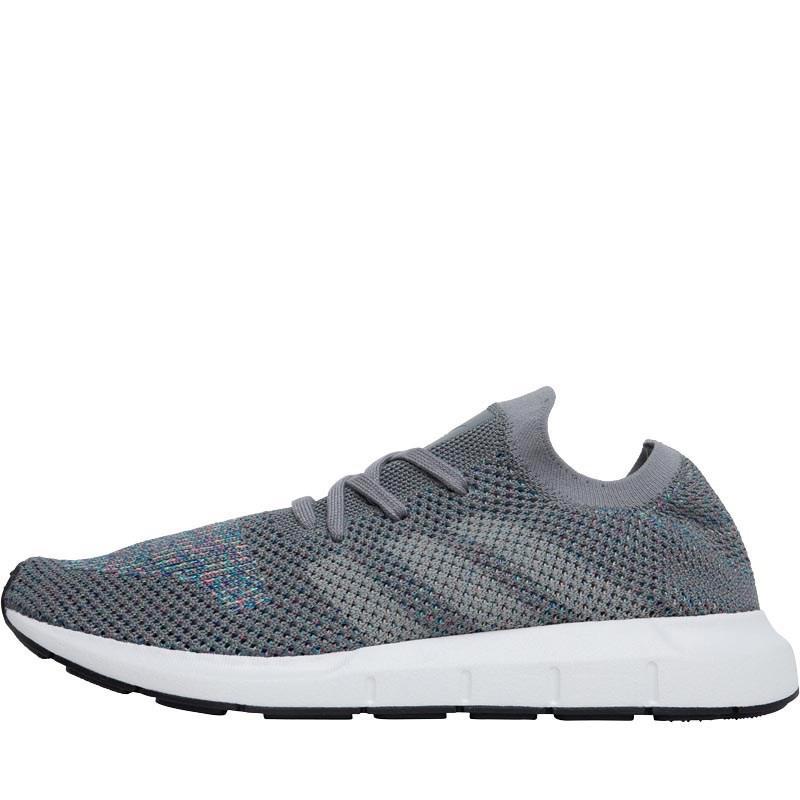 a561d0134 adidas Originals Swift Run Primeknit Trainers Grey Three grey One ...