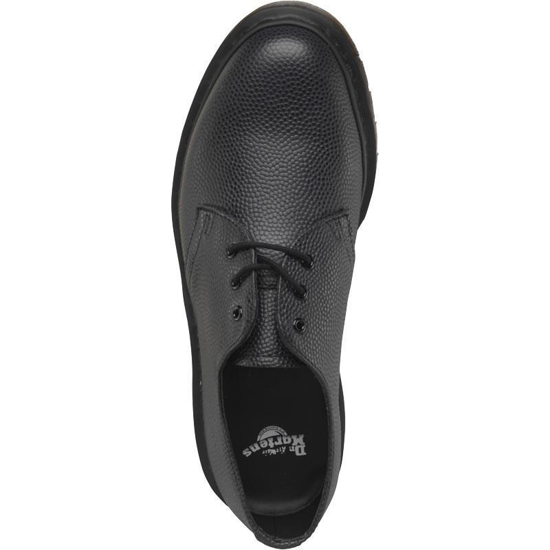 Dr. Martens Leather 1461 Pebble Shoes Black for Men