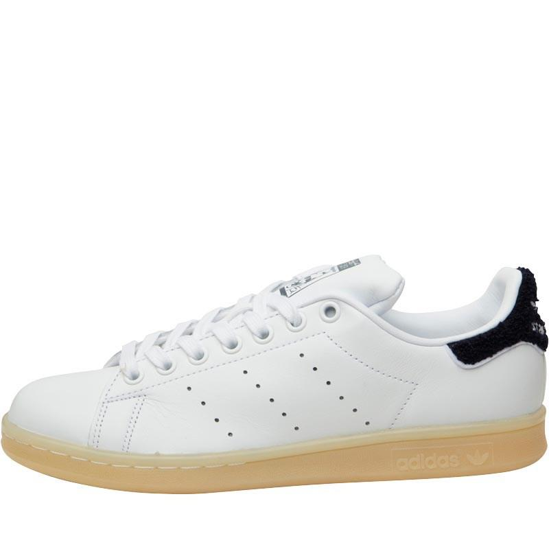 Stan Smith Whitewhitecollegiate Trainers Chenille Navy rdohtQxCBs