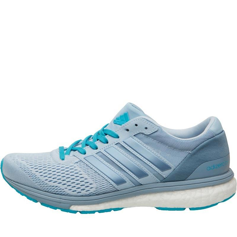 Adizero Boston Boost 6 Lightweight Neutral Running Shoes Easy Bluetactile Blueenergy Blue