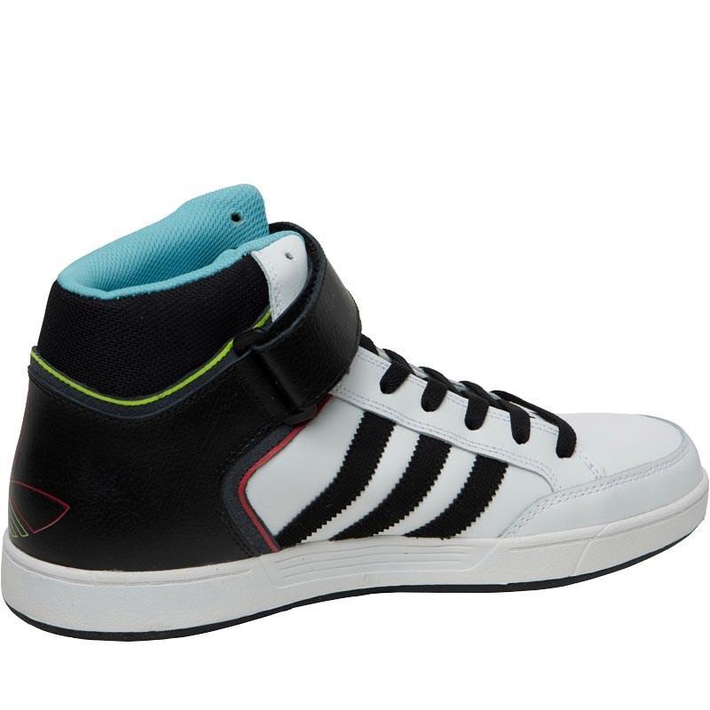 adidas originali con lo skateboard varial metà dei formatori bianco / nucleo nero
