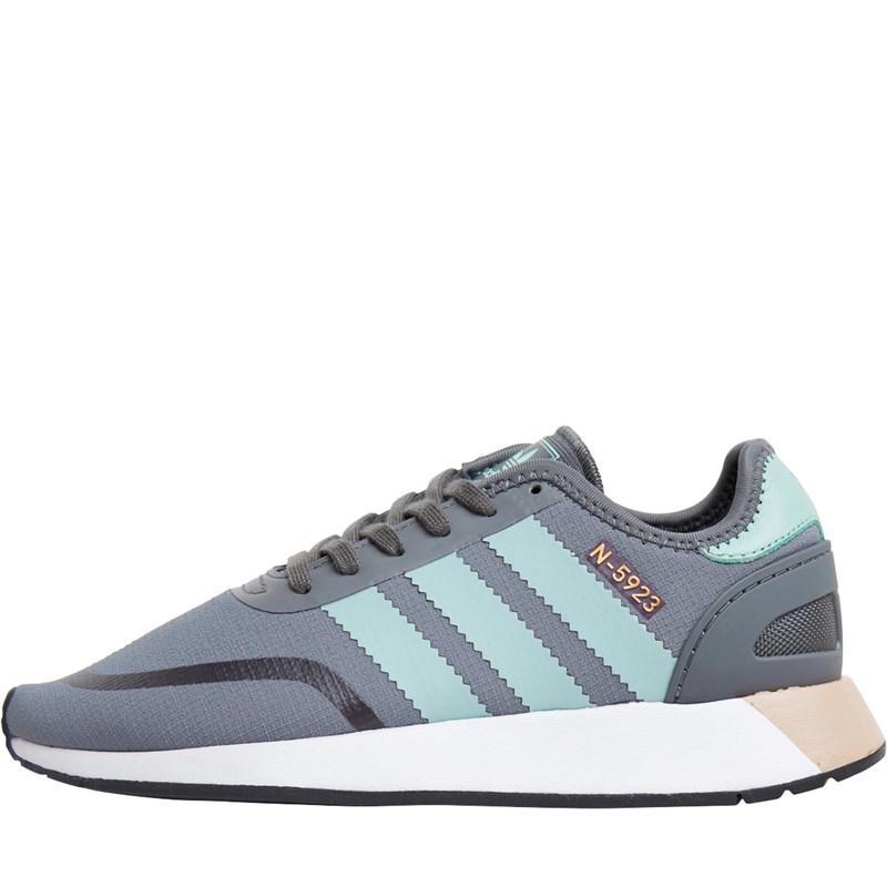 adidas Originals. Women s Gray N-5923 Trainers Grey Four ash Green footwear  White 7a0f7f499