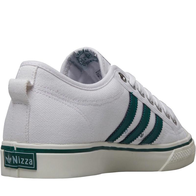 Adidas Originals - Nizza Trainers Footwear White collegiate Green off White  for Men -. View fullscreen c7538e649