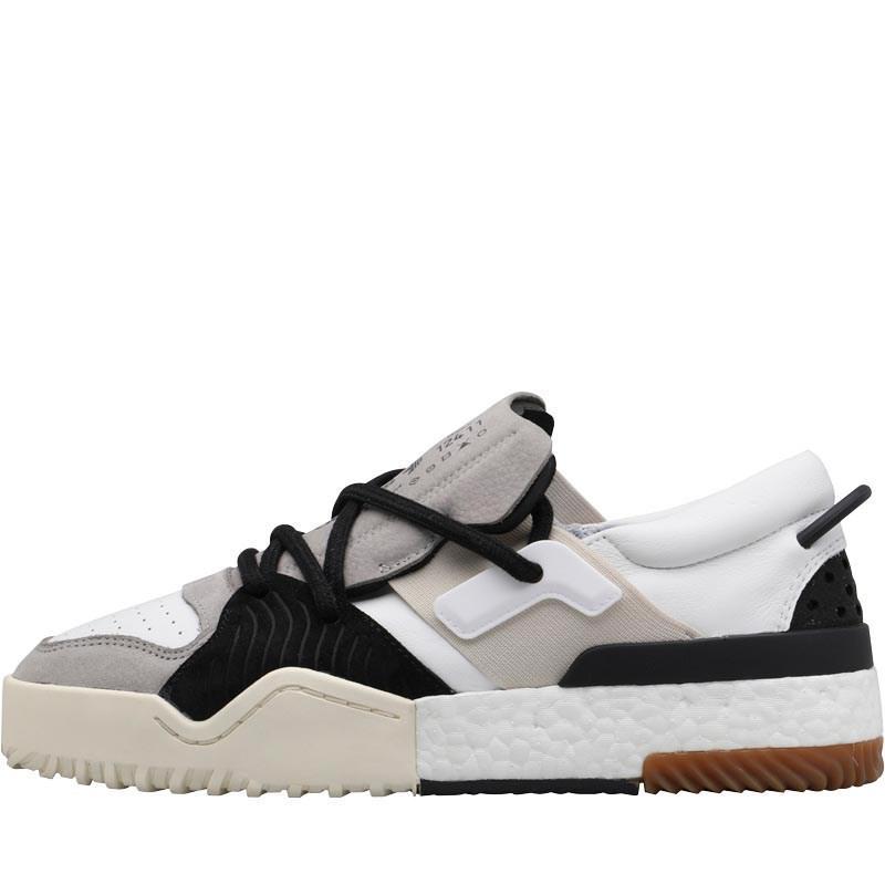 buy popular 14103 8a7c5 adidas Originals X Alexander Wang Bball Low Trainers Whiteme