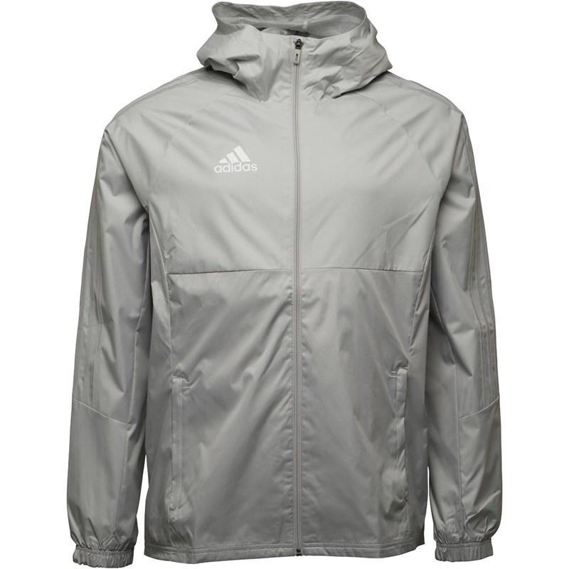 7f35277dfb4d adidas Tiro 17 Rain Jacket Stone white in Gray for Men - Lyst