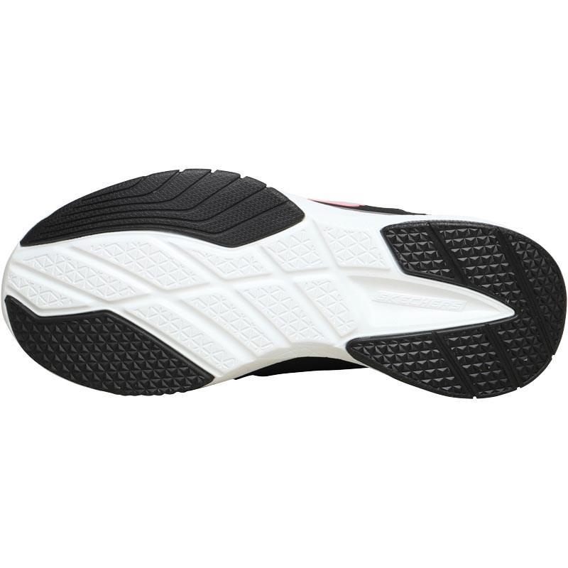 Skechers Burst Inside Out Slip On Trainers Black/white for Men