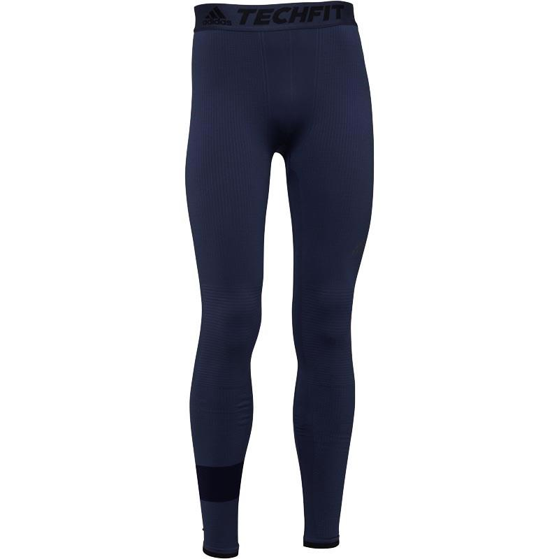 7a4f292f73715 adidas Techfit Climaheat Long Tights Trace Blue in Blue for Men - Lyst