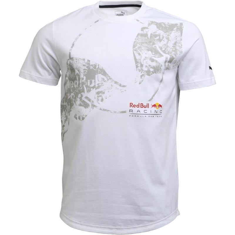 f15b1906591fe PUMA F1 Red Bull Racing Graphic T-shirt White for men