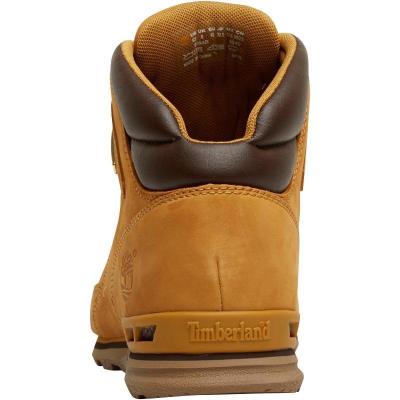 26f6fd0d58c Timberland Brown Euro Rock Hiker Nubuck Boots Wheat for men