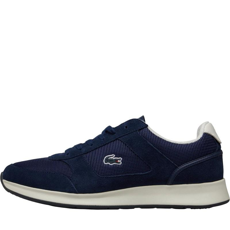 ef476a2f0b4bda Lacoste Joggeur Spm Trainers Navy off White in Blue for Men - Lyst
