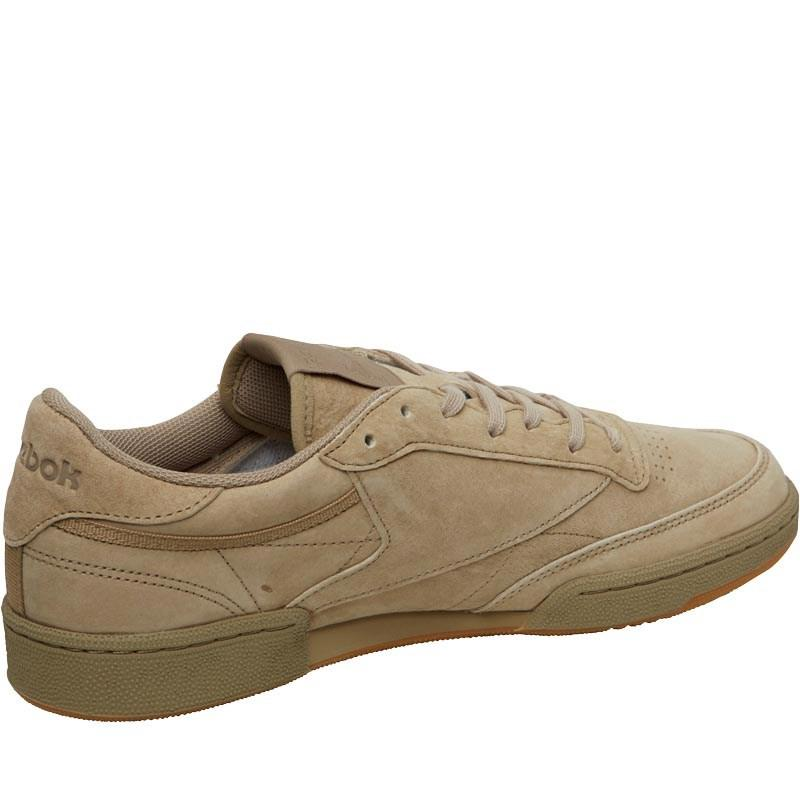 926c01e3191 Reebok Club C 85 Tg Trainers Canvas gum in Brown for Men - Lyst