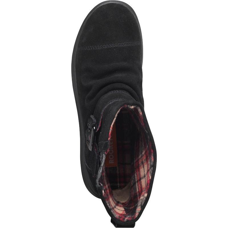 Rocket Dog Suede Mint Boots Black