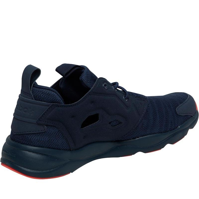 Reebok Synthetic Furylite Sole Trainers Collegiate Navy/lead/fire Coral in Blue