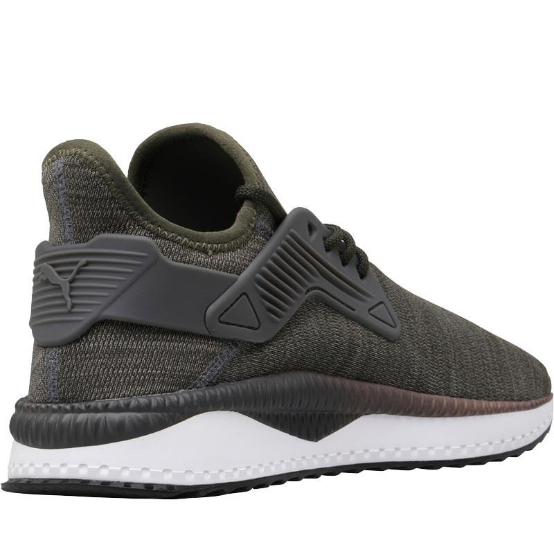 806a97c0e569 PUMA Tsugi Cage Melange Trainers Forest Night in Black for Men - Lyst