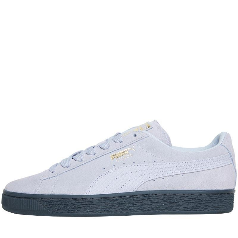 PUMA Suede Classic Animal Trainers Iceland Blue gold in Blue for Men ... 31ace0cbd