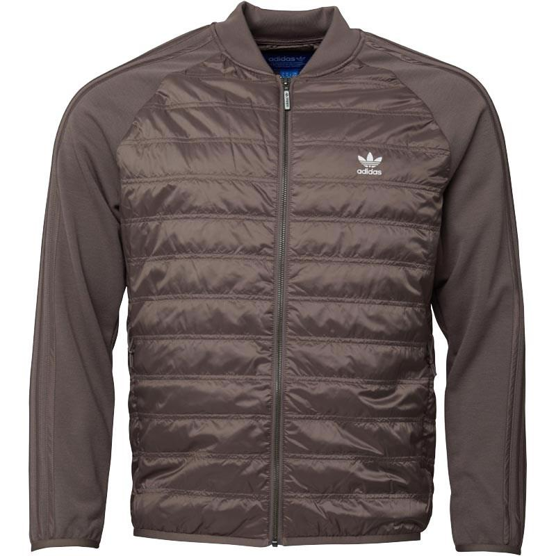 Adidas Originals Quilt.Sst Quilted Track Top Tech Earth