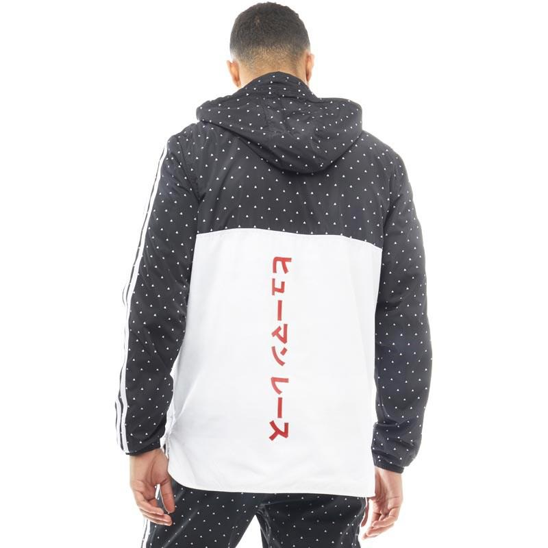 super tanie gorące nowe produkty fantastyczne oszczędności Pharrell Williams Hu Woven Hoody Black/white