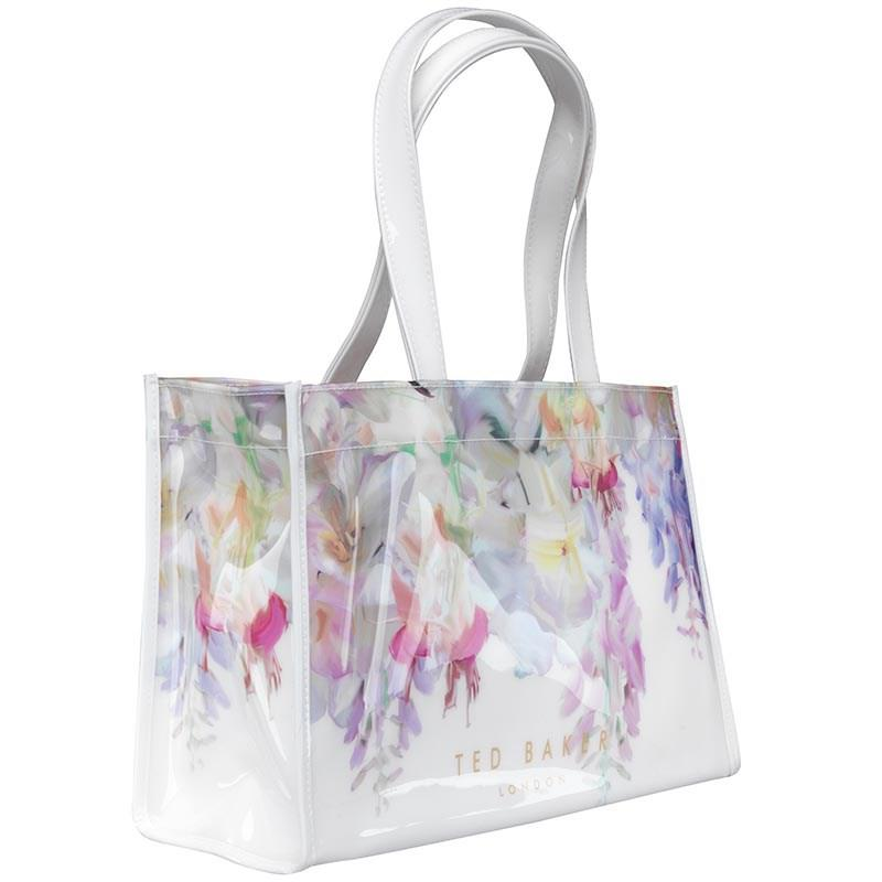 64c6abed9 Ted Baker Ferrian Hanging Garden Icon Bag And Flip Flops White in ...