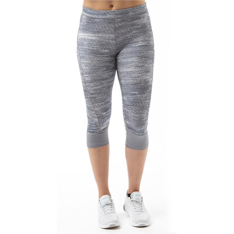 adidas. Women's Gray Techfit Climalite Compression Running Capri ...