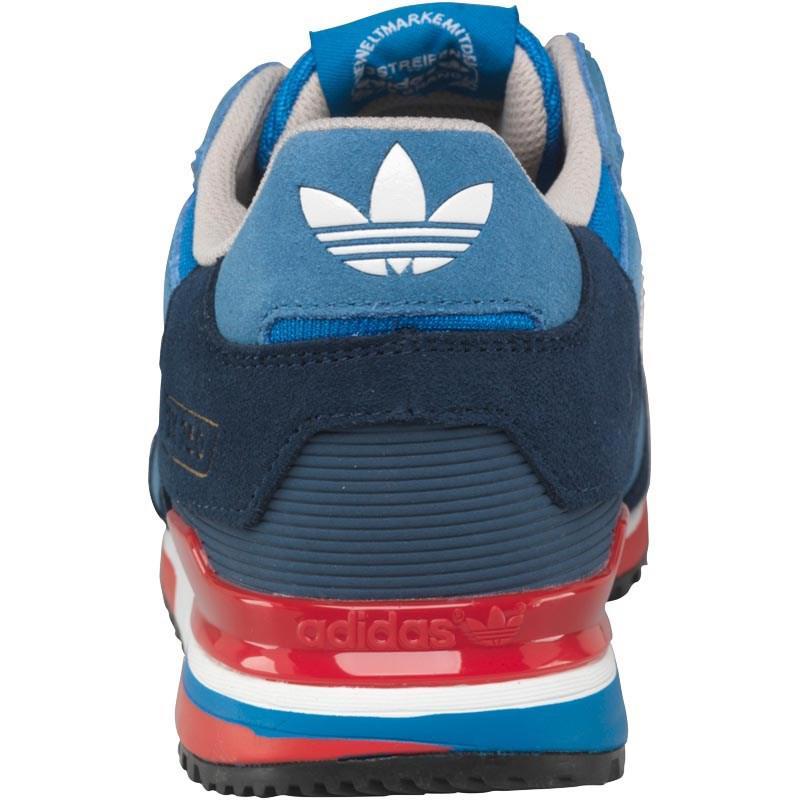 wholesale dealer a8e53 a89f1 adidas Originals Zx 750 Trainers Bluebird white dark Slate in Blue ...