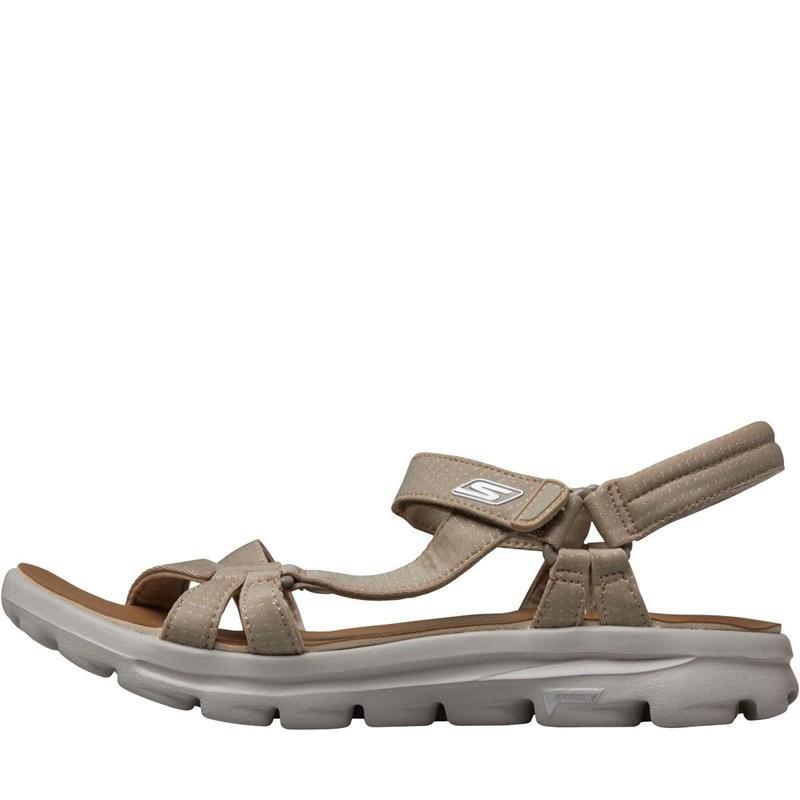 Skechers Multicolor Gowalk Move River Walk Sandals Natural