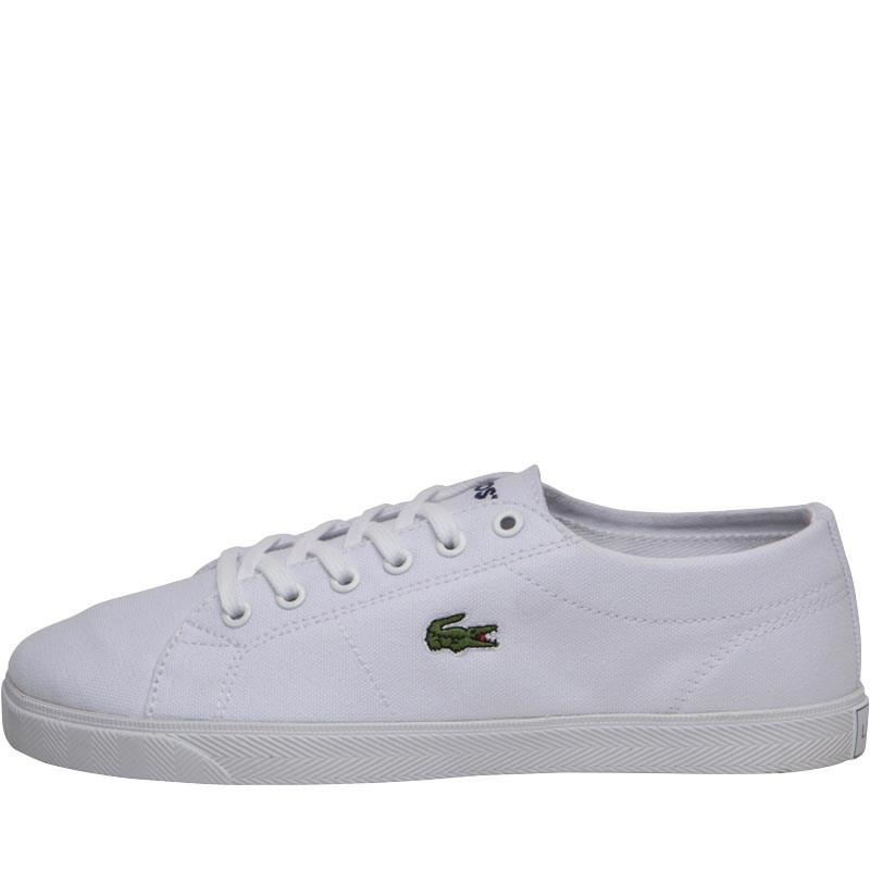 3cb68ad16 Lacoste Riberac Canvas Trainers White/white in White - Lyst