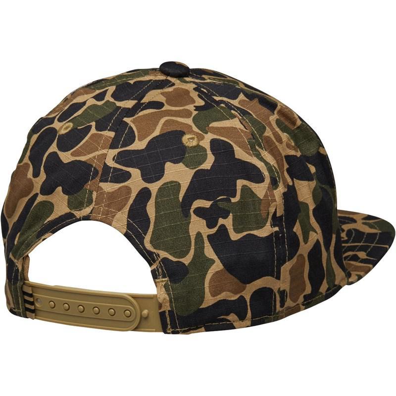 e0cd6a0cef6 Adidas Originals - Green Camo Snapback Cap Dark Sahara for Men - Lyst. View  fullscreen