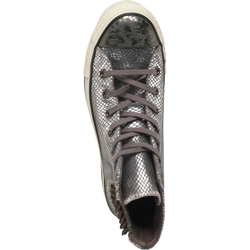 3061c3885071 Converse Ct All Star Hi Platform Snakeskin Chelsea Trainers Metallic ...