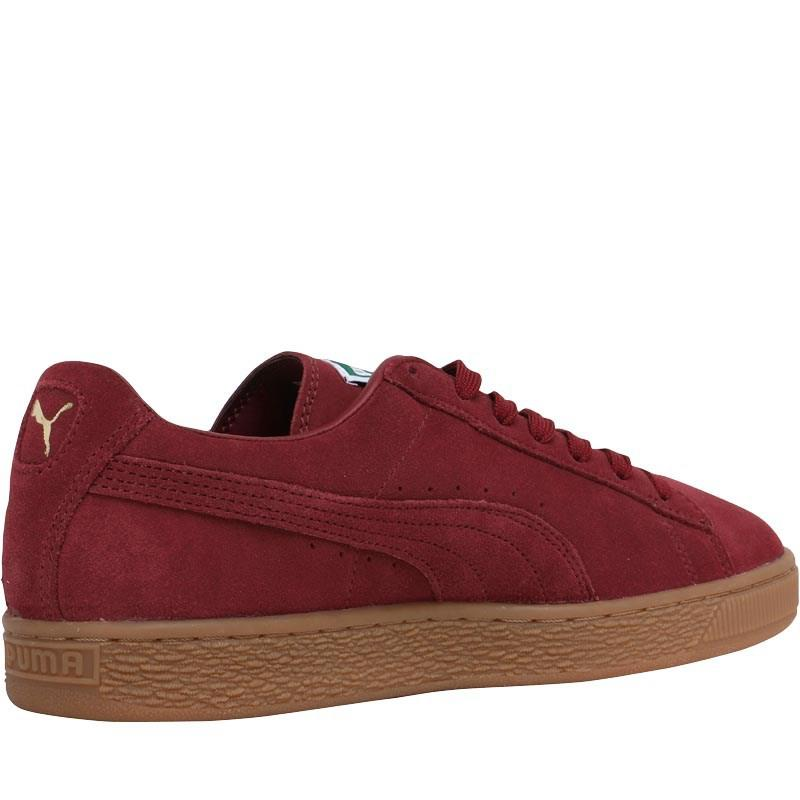 3f0d5a544877b6 PUMA Suede Classic Trainers Cabernet gold in Red for Men - Lyst