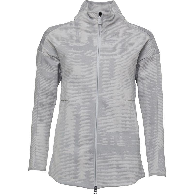 adidas Synthetic Z.n.e. Pulse Jacquard Cover Up Grey Two in