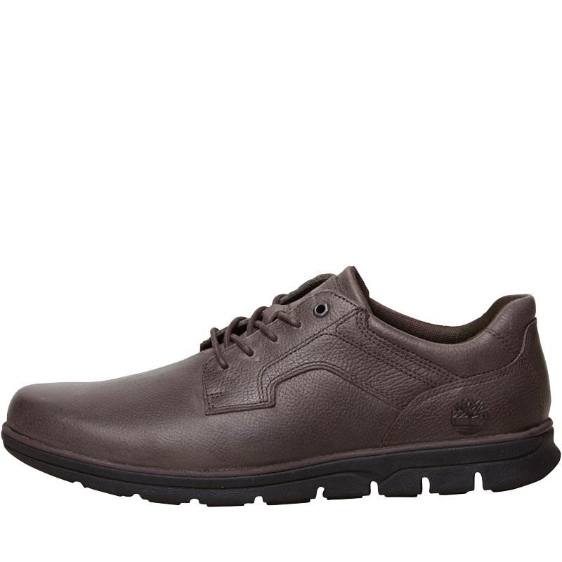 29598be15d4 Timberland Bradstreet Padded Collar Oxford Shoes Mulch in Brown for ...