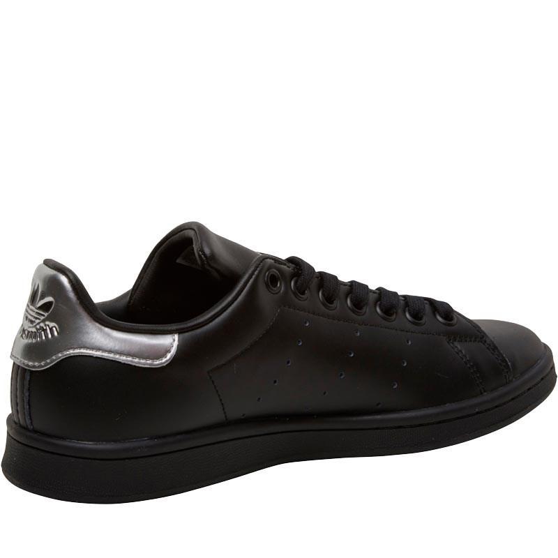 adidas Originals Leather Stan Smith Trainers Core Black/core Black