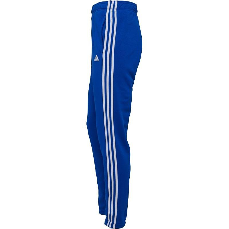 Essentials 3 Stripe Tapered Sweat Pants Collegiate Royal/white