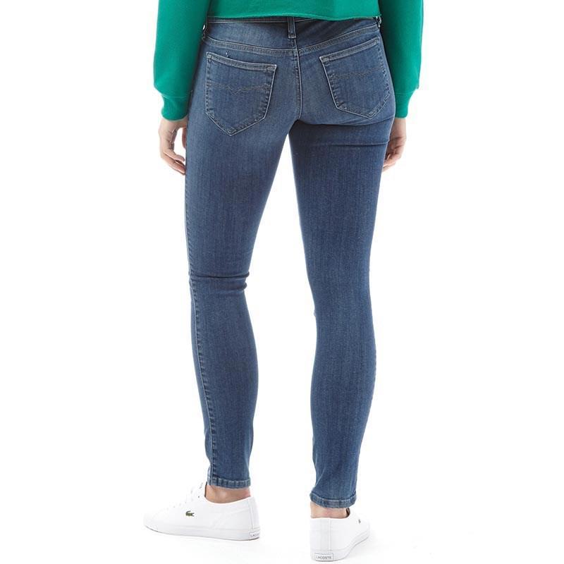 ec3120c188b DIESEL Skinzee 0860x Low Waist Skinny Fit Jeans Medium Blue in Blue ...