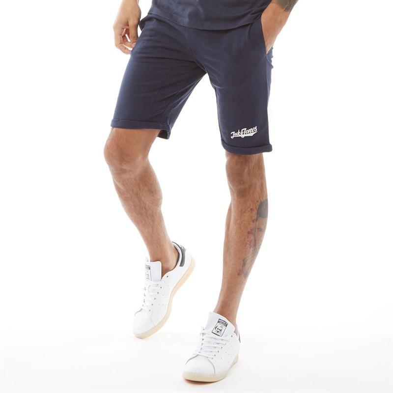 19c1f3a7578f9 Jack & Jones Original Elim Sweat Shorts Total Eclipse in Blue for ...