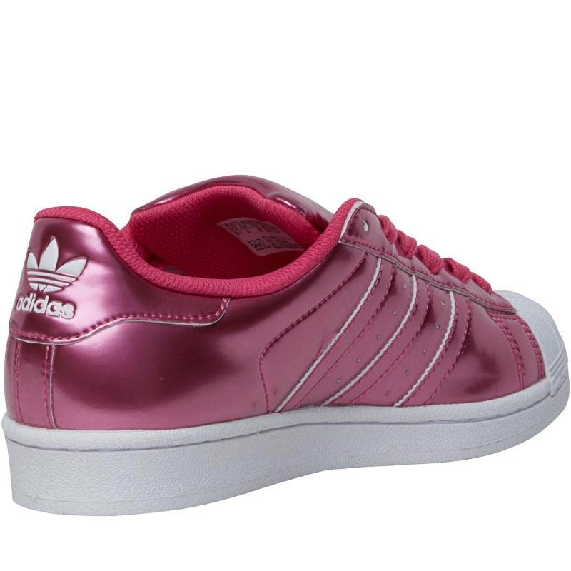 adidas superstar metallic pink pink white