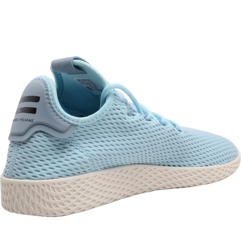 8de85a100 adidas Originals X Pharrell Williams Tennis Hu Trainers Ice Blue ice ...