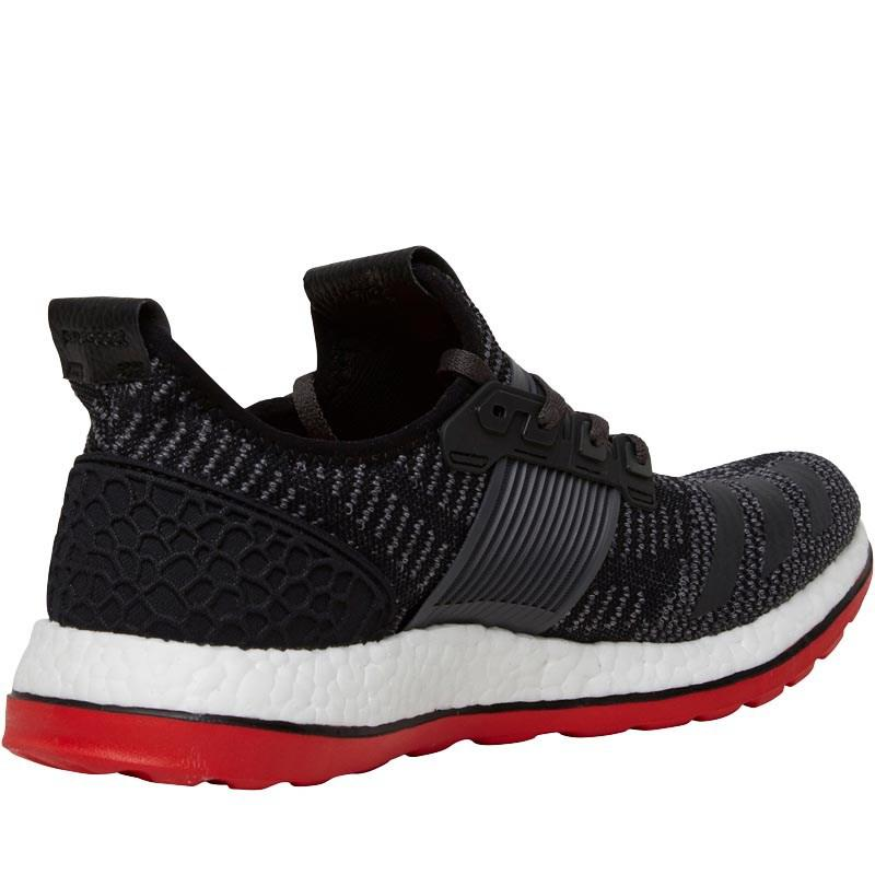 245d1c1c20df3 adidas Pure Boost Zg Primeknit Neutral Running Shoes Core Black dark ...