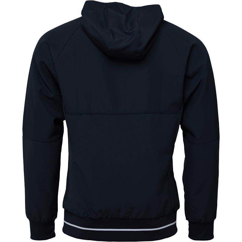 bf507c9228d Adidas - Gray Manchester United Presentation Jacket Night Grey white for  Men - Lyst. View fullscreen