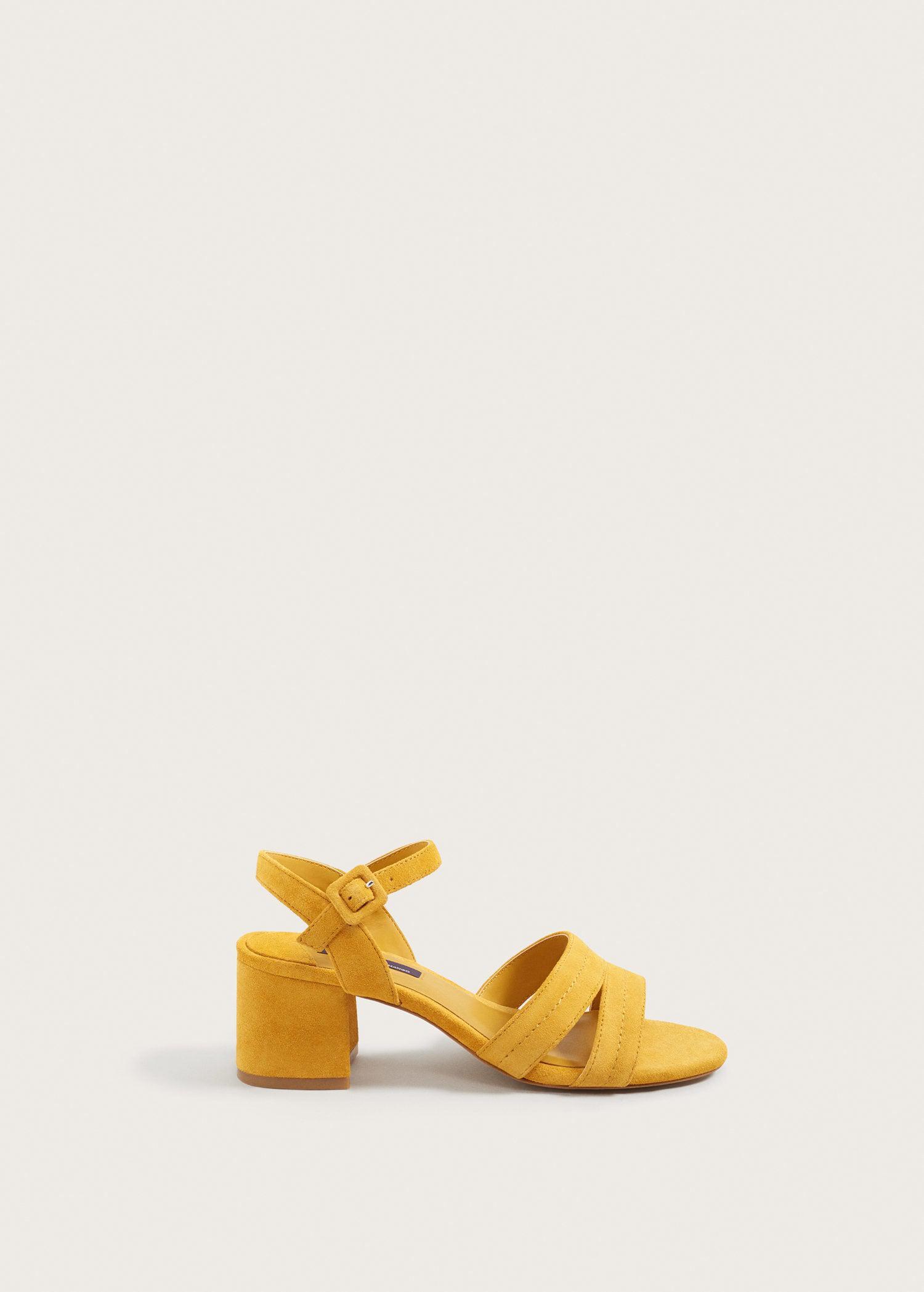 Nâº21 Boucle Sandales À Bout Ouvert - Jaune Et Orange CQrEYEU