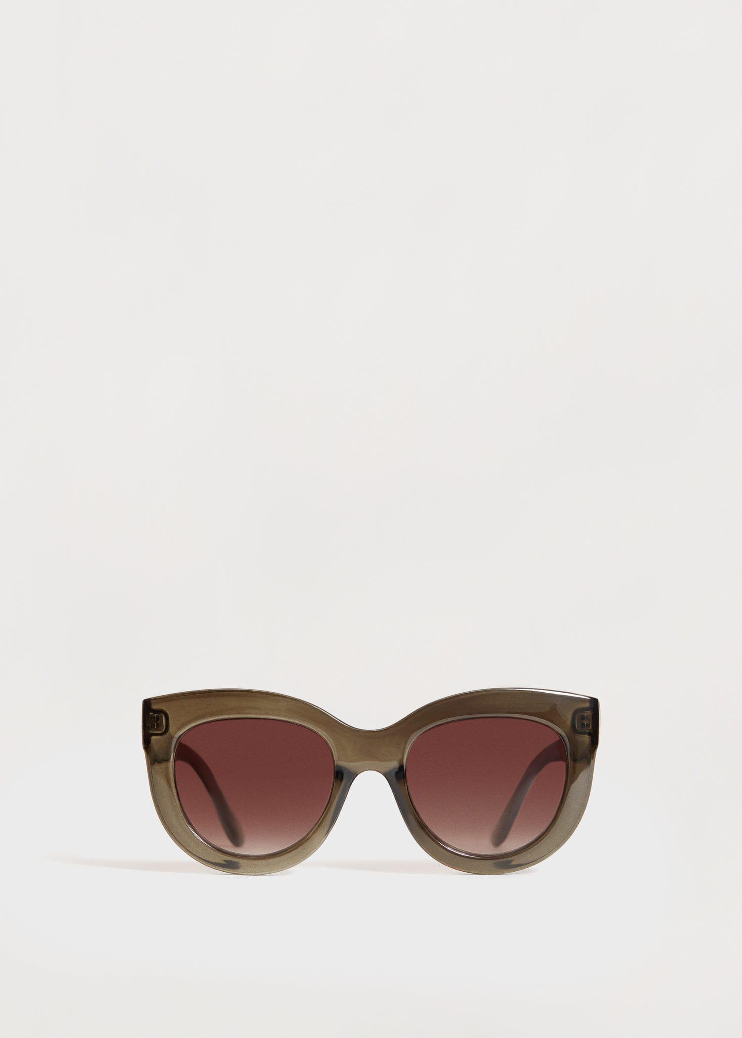 Violeta by Mango Acetate Frame Sunglasses